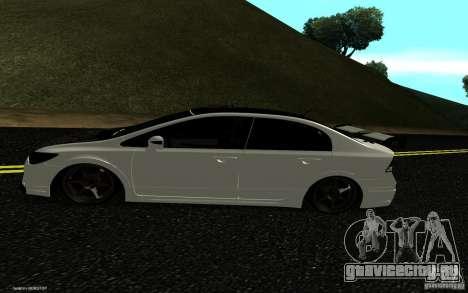 Honda Civic Type R для GTA San Andreas вид справа
