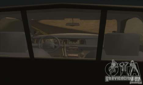 Ford Crown Victoria Illinois Police для GTA San Andreas вид сзади слева