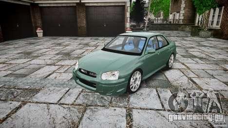 Subaru Impreza v2 для GTA 4