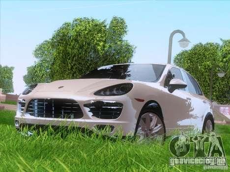 Porsche Cayenne Turbo 958 2011 V2.0 для GTA San Andreas вид слева