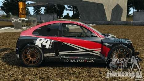 Colin McRae R4 Rallycross для GTA 4 вид слева