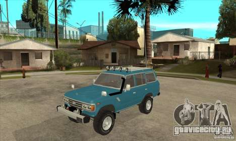 Toyota Land Cruiser для GTA San Andreas