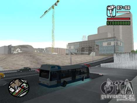 DAF для GTA San Andreas вид справа