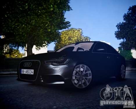Audi A6 2012 для GTA 4
