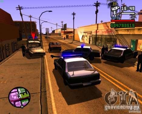 Погоня за машинами для GTA San Andreas второй скриншот