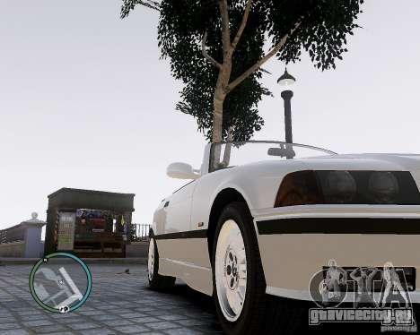 BMW M3 e36 1997 Cabriolet для GTA 4 вид справа