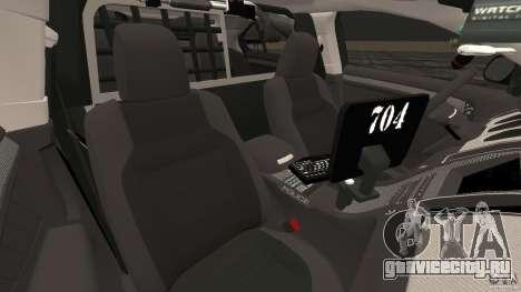 Ford Taurus 2010 Atlanta Police [ELS] для GTA 4 вид изнутри