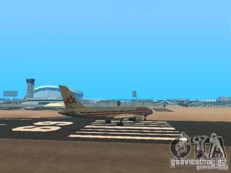 Boeing 757-200 American Airlines для GTA San Andreas вид справа