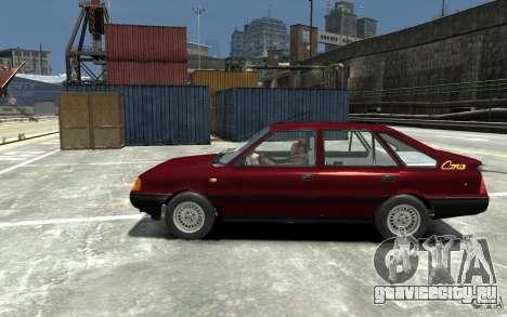 FSO Polonez Caro 1.4 16V для GTA 4 вид слева