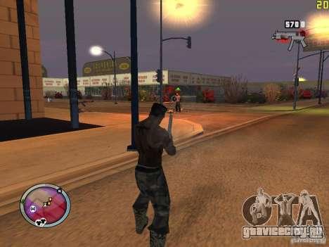 Новые ГАНГСТЕРСКИЕ зоны для GTA San Andreas одинадцатый скриншот