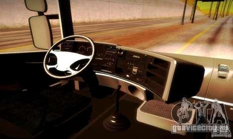 Scania R620 МЧС России для GTA San Andreas вид сзади