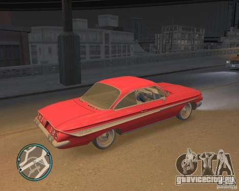 Chevrolet Impala 1961 для GTA 4