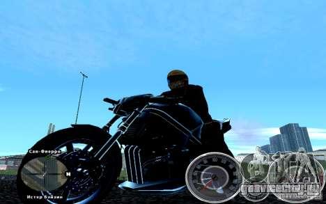 Скрипт Chevrolet Camaro Spedometr для GTA San Andreas третий скриншот