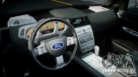 Ford Escape 2011 Hybrid Civilian Version v1.0 для GTA 4 вид справа