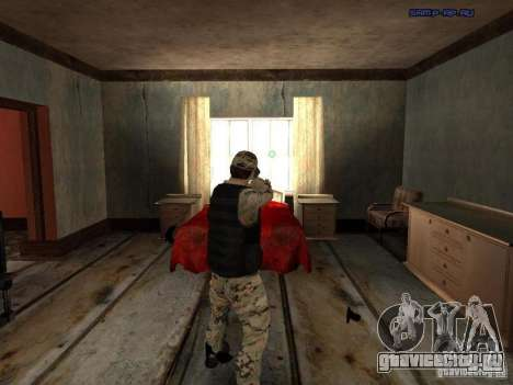 Army Soldier Skin для GTA San Andreas второй скриншот