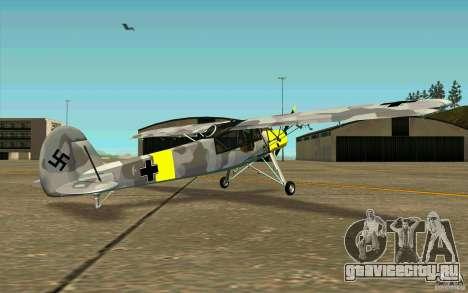 Fiesler Storch для GTA San Andreas вид справа