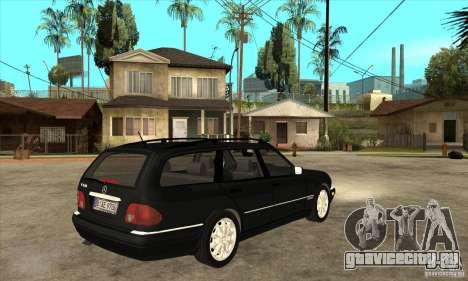 Mercedes-Benz W210 E320 1997 для GTA San Andreas вид справа