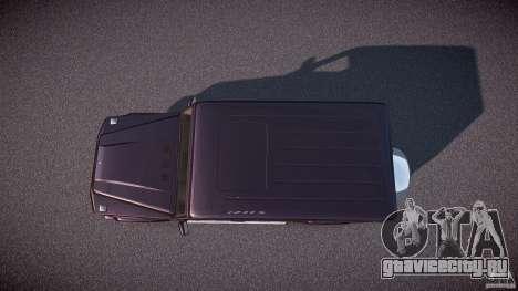 Mercedes Benz G500 (W463) 2008 для GTA 4 вид справа