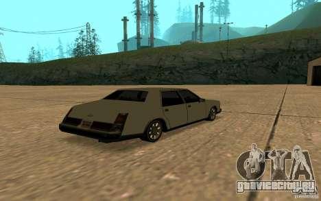 FBI Washington для GTA San Andreas вид сзади