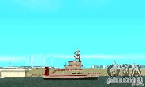Vice City Ferryboat для GTA San Andreas вид слева