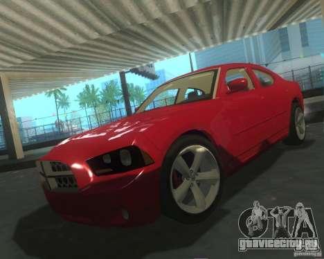 Dodge Charger 2011 для GTA San Andreas вид сверху