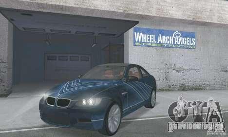 BMW M3 E92 Stock для GTA San Andreas