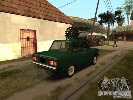 ЗАЗ 968М v2 для GTA San Andreas вид сзади слева