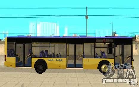 ЛАЗ-А183 City Laz для GTA San Andreas вид слева