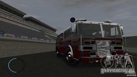 NEW Fire Truck для GTA 4 вид изнутри