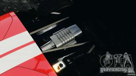 Ford GT 2005 v1.0 для GTA 4 вид изнутри