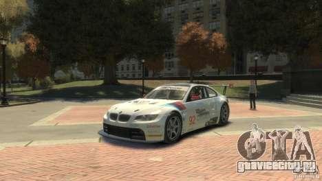 BMW M3 Gt2 для GTA 4 вид слева
