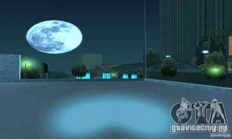 Неоновый цвет фар для GTA San Andreas пятый скриншот