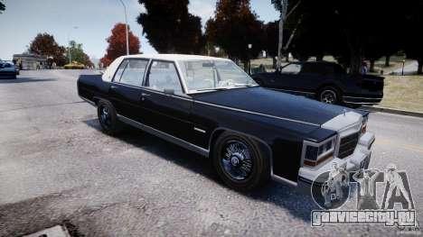 Cadillac Fleetwood Brougham 1985 для GTA 4