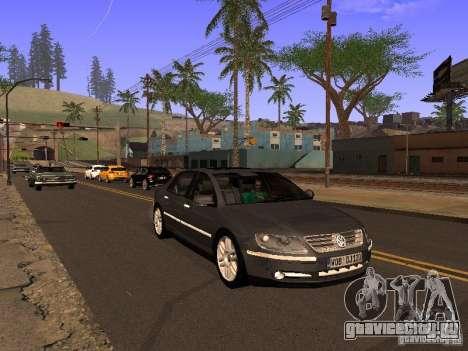 Volkswagen Phaeton W12 для GTA San Andreas вид сбоку