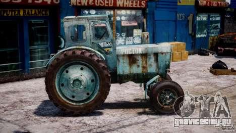 Трактор T-40M для GTA 4