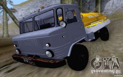 ГАЗ 66 ГСМ для GTA San Andreas вид слева