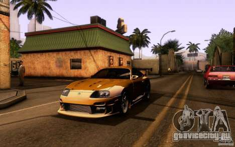 Toyota Supra Top Secret для GTA San Andreas