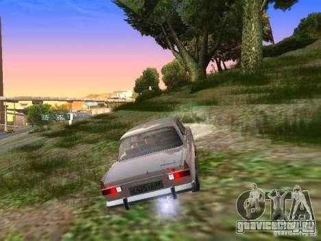 АЗЛК-412 для GTA San Andreas вид справа