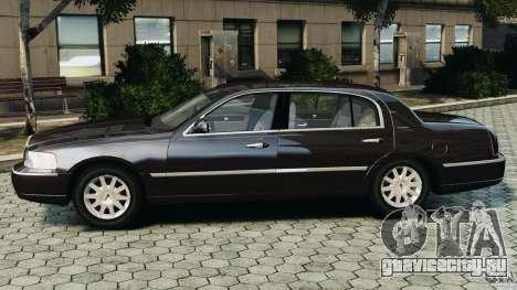 Lincoln Town Car 2006 v1.0 для GTA 4 вид слева
