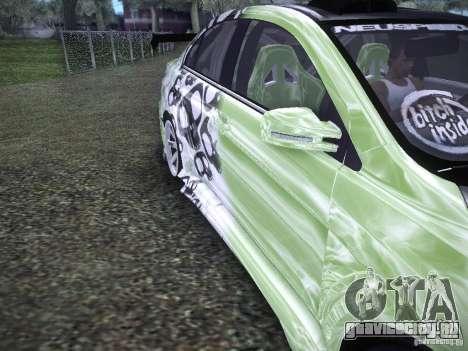Mitsubishi Lancer Evolution X - Tuning для GTA San Andreas вид изнутри