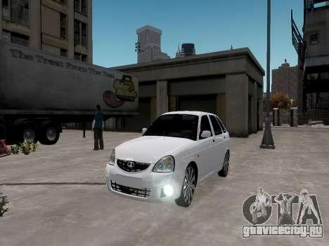 ВАЗ 2172 Приора для GTA 4