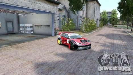 Subaru Impreza WRX STI RALLYCROSS Eibach Springs для GTA 4 вид справа