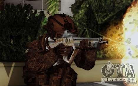 Tavor Tar-21 Steeldigital для GTA San Andreas второй скриншот