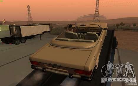 New Feltzer для GTA San Andreas вид сзади слева