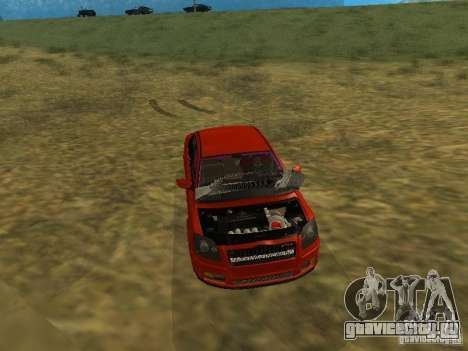 Toyota Avensis TRD Tuning для GTA San Andreas вид сверху
