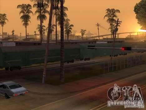 Вагон №59004960 для GTA San Andreas вид справа