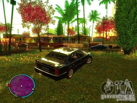 Lotus Carlton 1989 для GTA San Andreas вид слева