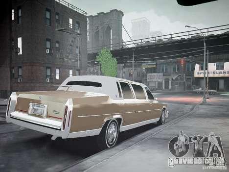 Cadillac Fleetwood 1985 для GTA 4 вид слева