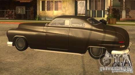 Hermes HD для GTA San Andreas вид сзади слева