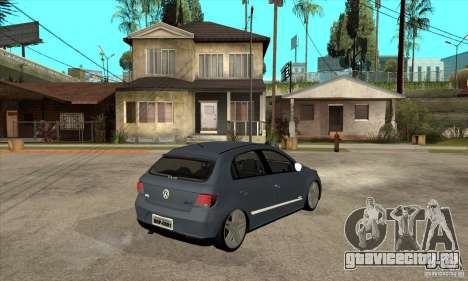Volkswagen Gol G5 для GTA San Andreas вид справа